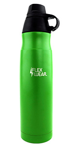 800ml Green Stainless Steel Water Bottle